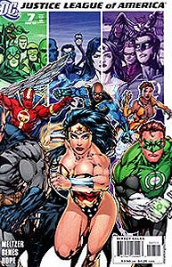 Justice League of America 7.  Image Copyright DC Comics