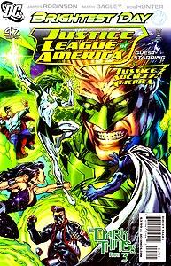 Justice League of America 47.  Image Copyright DC Comics