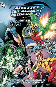 Justice League of America: Omega, Vol. 1, #1. Image © DC Comics