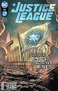 Justice League 66.  Image Copyright DC Comics