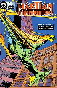 Martian Manhunter 1.  Image Copyright DC Comics