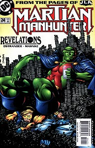 Martian Manhunter 24.  Image Copyright DC Comics
