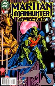 Martian Manhunter Special 1.  Image Copyright DC Comics