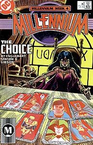 Millennium, Vol. 1, #4. Image © DC Comics