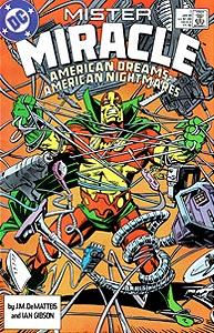 Mister Miracle 1.  Image Copyright DC Comics