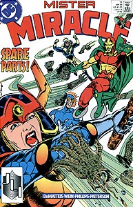 Mister Miracle 8.  Image Copyright DC Comics
