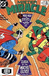 Mister Miracle, Vol. 2, #10. Image © DC Comics