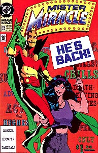 Mister Miracle 19.  Image Copyright DC Comics