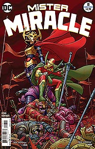 Mister Miracle, Vol. 4, #8. Image © DC Comics