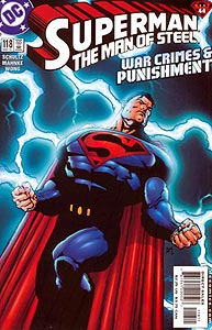 Superman: The Man of Steel 118.  Image Copyright DC Comics