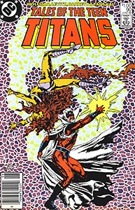 Tales of the Teen Titans, Vol. 1, #90. Image © DC Comics