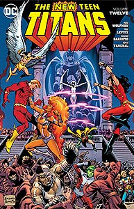 New Teen Titans Volume 12, Vol. 1, #1. Image © DC Comics