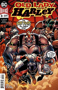 Old Lady Harley 3.  Image Copyright DC Comics