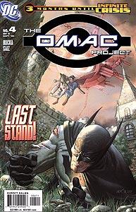 The OMAC Project 4.  Image Copyright DC Comics