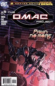 The OMAC Project 5.  Image Copyright DC Comics
