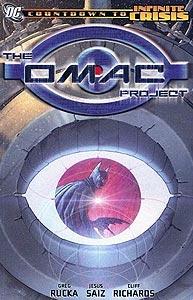 The OMAC Project 1.  Image Copyright DC Comics