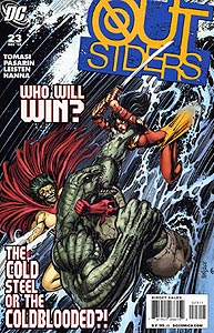 The Outsiders, Vol. 4, #23. Image © DC Comics