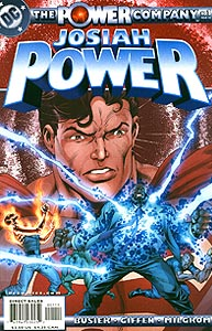 The Power Company: Josiah Power 1.  Image Copyright DC Comics