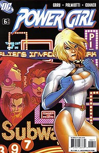 Power Girl, Vol. 3, #6. Image © DC Comics