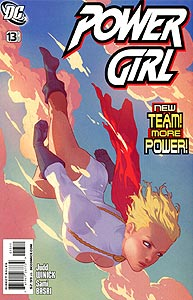 Power Girl, Vol. 3, #13. Image © DC Comics