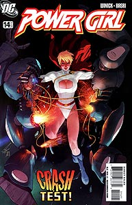 Power Girl, Vol. 3, #14. Image © DC Comics