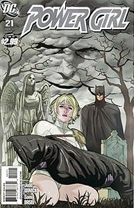 Power Girl, Vol. 3, #21. Image © DC Comics