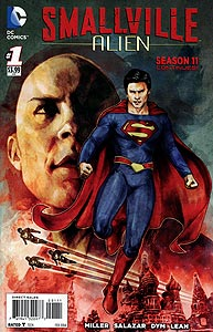 Smallville: Alien, Vol. 1, #1. Image © DC Comics