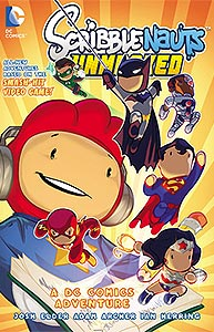 Scribblenauts Unmasked: A Crisis of Imagination, Vol. 1, #1. Image © DC Comics