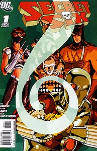 Secret Six 1.  Image Copyright DC Comics