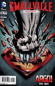 Smallville Season 11, Vol. 1, #15. Image © DC Comics