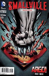 Smallville Season 11 15.  Image Copyright DC Comics