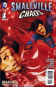 Smallville: Chaos, Vol. 1, #1. Image © DC Comics