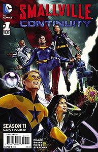 Smallville Season 11: Continuity, Vol. 1, #1. Image © DC Comics
