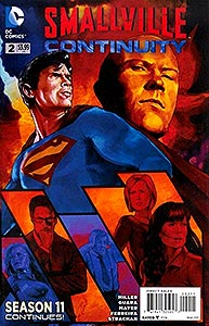 Smallville Season 11: Continuity, Vol. 1, #2. Image © DC Comics