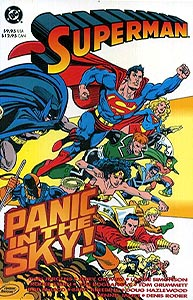 Superman: Panic in the Sky!, Vol. 1, #1. Image © DC Comics