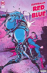 Superman: Red and Blue 3.  Image Copyright DC Comics