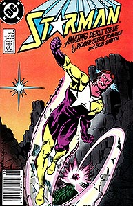 Starman, Vol. 1, #1. Image © DC Comics