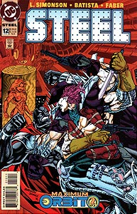 Steel, Vol. 1, #12. Image © DC Comics