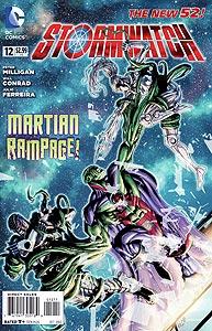 Stormwatch 12.  Image Copyright DC Comics