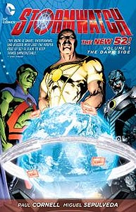 Stormwatch Volume 1: The Dark Side, Vol. 1, #1. Image © DC Comics