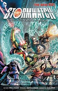 Stormwatch Volume 2: Enemies of Earth, Vol. 1, #1. Image © DC Comics