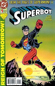 Superboy, Vol. 3, #1. Image © DC Comics