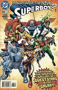 Superboy 65.  Image Copyright DC Comics