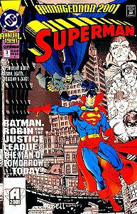 Superman Annual 3.  Image Copyright DC Comics