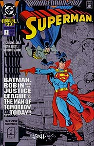 Superman Annual 3. Reprint Cover Image Copyright DC Comics