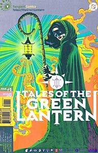 Tangent Comics: Tales of the Green Lantern, Vol. 1, #1. Image © DC Comics