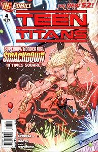 Teen Titans, Vol. 4, #4. Image © DC Comics