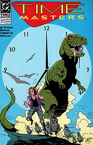 Time Masters 2.  Image Copyright DC Comics