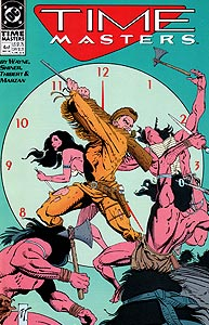 Time Masters, Vol. 1, #4. Image © DC Comics