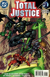 Total Justice, Vol. 1, #1. Image © DC Comics